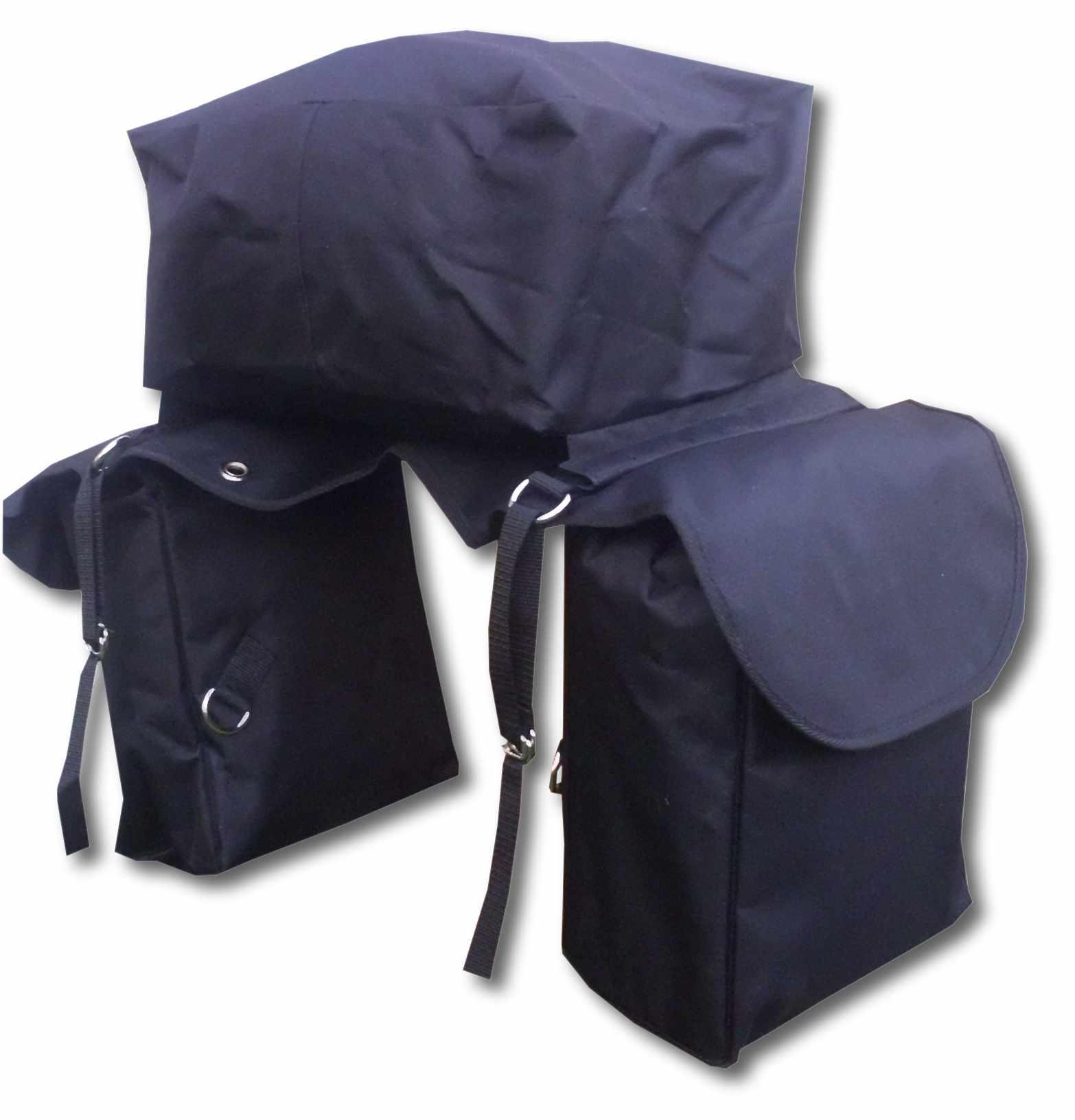 pferde packtasche takeoff trail 3in1 wasserabweisend als 2fach oder 3fach satteltasche. Black Bedroom Furniture Sets. Home Design Ideas