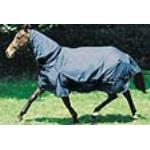 Masta Turnout Pferdedecke Flexi Neck, blau