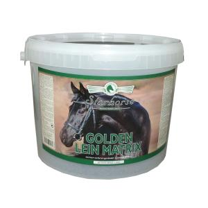 Starhorse Golden Lein Matrix Leinsamen| Golden Lein Matrix Leinsamen | Leinsamen Golden Lein Matrix 5 kg Kübel